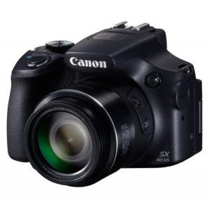 Câmera Digital 16.1 MP LCD 3.0 Zoom Óptico 65x e Vídeo em Full HD SX60HS - Canon
