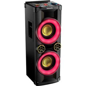 Mini System Philips NTX400X-78 CD Player Rádio AM-FM Bluetooth USB e MP3 - 900W