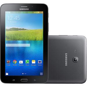 Tablet Samsung Galaxy Tab T116 8GB Wi-Fi-3G Tela 7 Android 4.4 Processador Quad Core 1.3Ghz - Preto