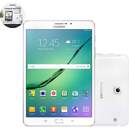 "Tablet Samsung Galaxy Tab S2 T719 32GB Wi-Fi 4G Tela 8"" Android Processador Octa-Core - Branco"
