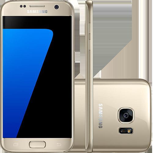 Smartphone Samsung Galaxy S7 Android 6.0 Tela 5.1″ 32GB 4G Câmera 12MP – Dourado