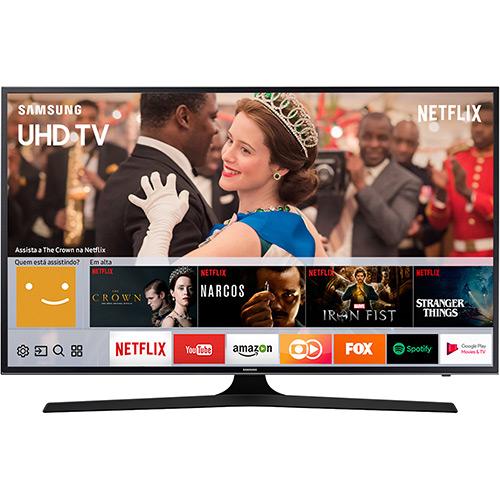 Smart TV LED 49″ Samsung 49MU6100 UHD 4K HDR Premium com Conversor Digital 3 HDMI 2 USB 120Hz