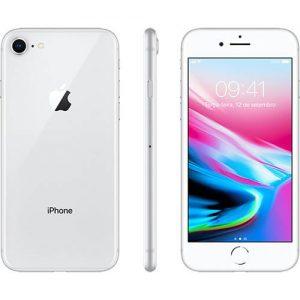 "iPhone 8 Prata 64GB Tela 4.7"" IOS 11 4G Wi-Fi Câmera 12MP - Apple"